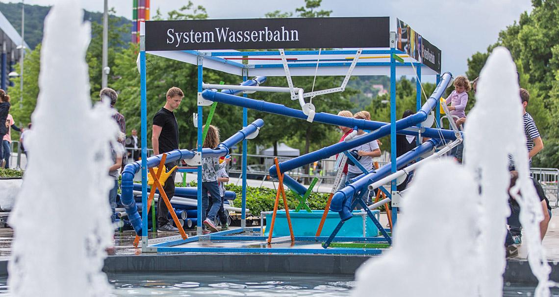 Agentur Tigertatze - Event Modul - Systemwasserbahn - 01
